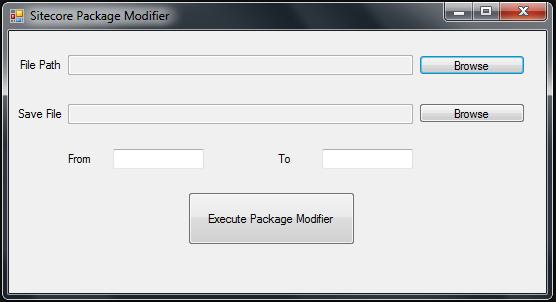 Sitecore Package Mod